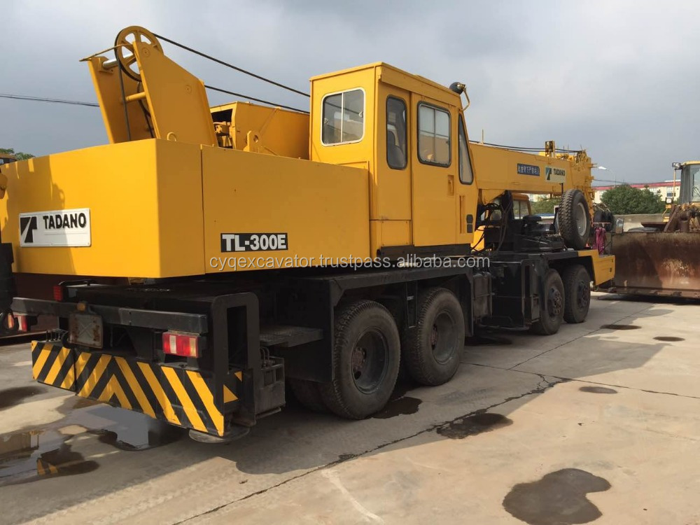 Used Japan original mobile crane Tadano 30T truck crane for sale(whatsapp: 0086-15800802908)