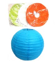 Paper Lantern 12 In. 4 Colors