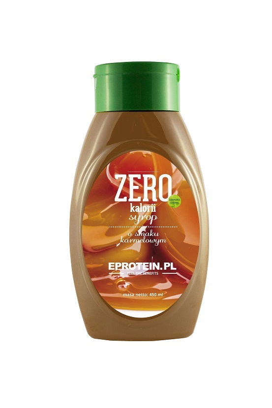 SYRUP ZERO CALORIES with stevia 450ml