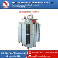 Tailor Made Electroplating Rectifier Available in Ranges from 25 Amps to 25000 Amps at Affordable Rate