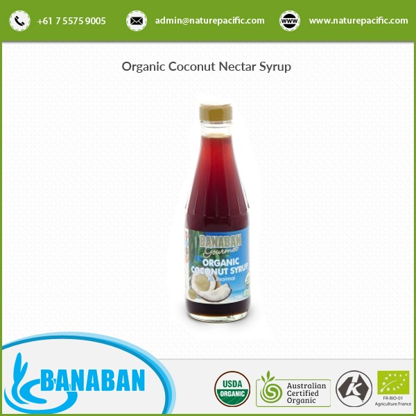 New Stock of Coconut Nectar Syrup Available from Bulk Exporter