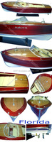 Riva Florida L87 . NEW! ! Wooden Speed Boat Models