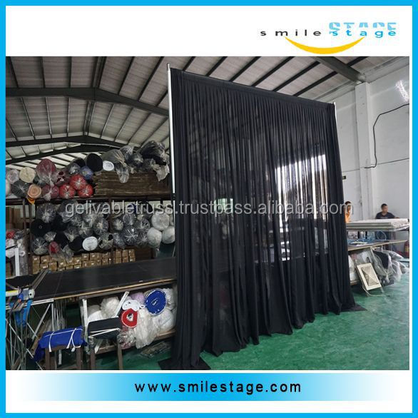 Heavy duty backdrop stand wedding drape stand