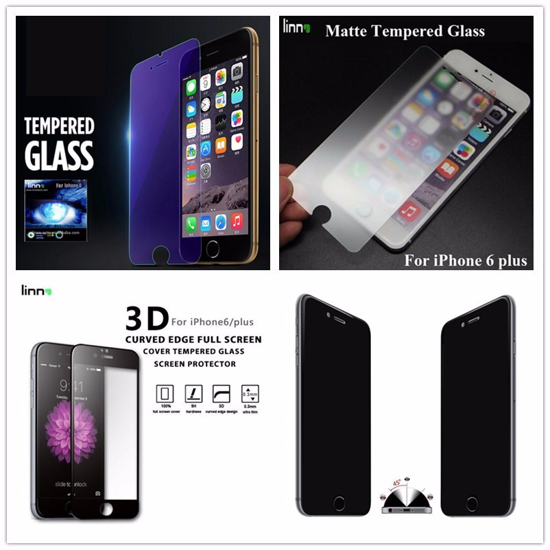 2.5d 9h Anti-broken Anti-scratch Mobile Phone Tempered Glass ...