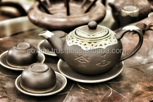Porcelain Tea Set Made in Vietnam