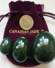 Nephrite jade eggs: yoni eggs for kegel exercise, 100% natural and genuine /wholesale supplier