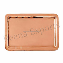 Wholesale indian serving tray/Copper Serving Tray/metal serving tray for hotel