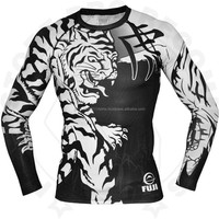 Custom rash guard sublimated with cheap price
