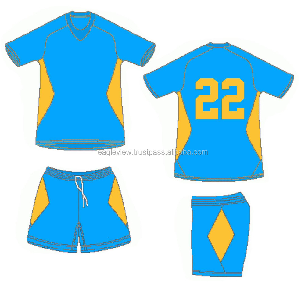 CUSTOM MADE SOCCER UNIFORM SETS WITH FREE NUMBER ALL SIZES - STYLE 2016