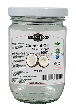 Pure coconut cooking oil Thailand