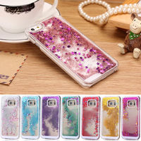 New Liquid Back Phone Case Cover for Samsung galaxy Note S4/S5S6/S7