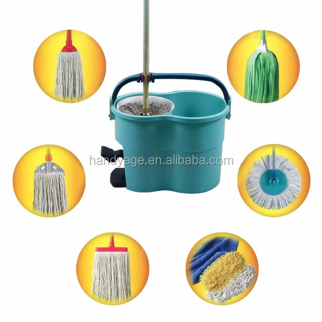 [Handy-Living]- Versatile Spin Mop Bucket Set (HK0301-076)