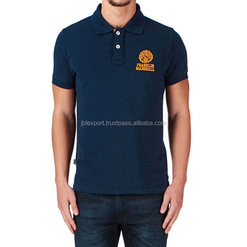 Custom T-shirt Printing Promotional T shirts With Collars Logo Brand Embroidery Design Polo Shirt