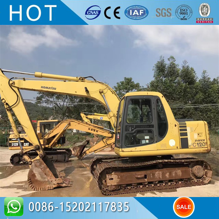 GOOD PRICE KOMATSU PC120-6 USED EXCAVATOR
