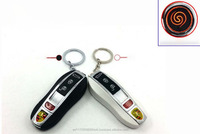 Car Remote Key Keychain Battery USB Electric Rechargeable Pipe Smoking Torch Lighter
