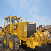 Japan Caterpillar 140G motor grader, CAT road constrution 140G graders