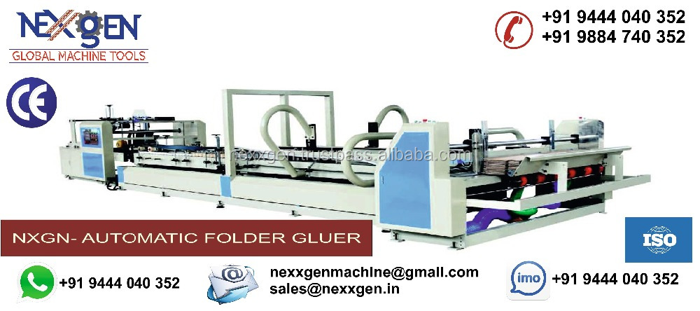Automatic Folder Gluer Machine for Paper Board Corrugation