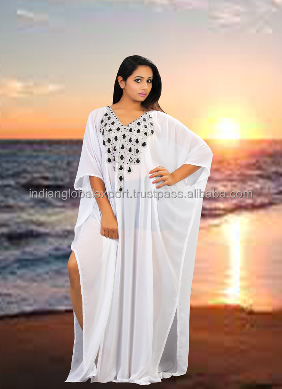 Beach wedding party gown Dubai very fancy kaftan Maxi Dress