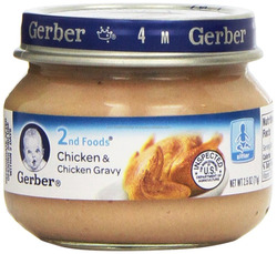 Gerber 2nd Foods, Beef and Gravy, 2.5-Ounce Jars (Pack of 12)