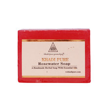 Khadi Pure Herbal Rose Water Soap