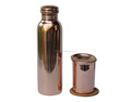 Copper Water Bottle With Matching Glass Set | Pure Copper Water Bottle High Quality