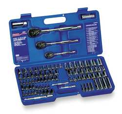 Socket and Wrench Set 1/4 3/8 1/2 dr.