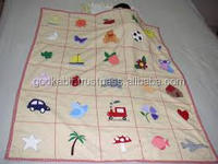 Excellent quality low price handmade knitted blanket beautiful wholesale price handmade blanket