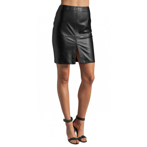 Stylish Girls Hot Mini Skirt Ladies Long Leather Skirts - Buy ...