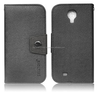 Leather Wallet Case with Card Holders For Samsung S4