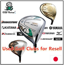 Various types of hard case golf bag and Used golf club at reasonable prices , best selling