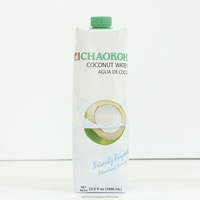 CHAOKOH UHT Coconut Water Packed in Aseptic box original package (1000 ml)