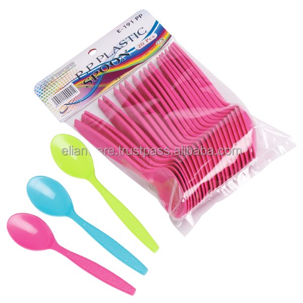 Plastic Spoon (12 Pcs Pack)