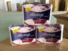 ollways Lady Napkins Panty Liners Ultra Thin Best Quality from Turkey
