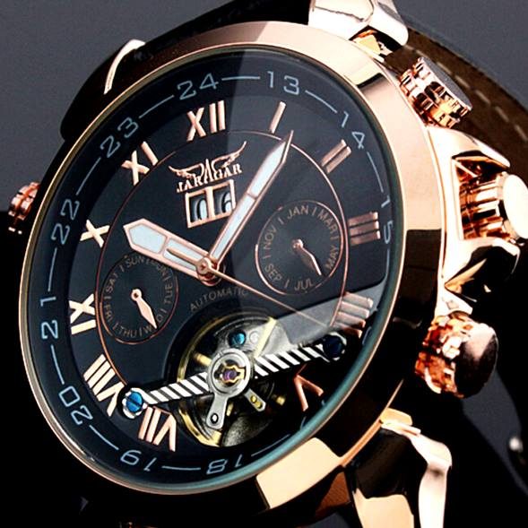 Luxury Jaragar wrist watch for men