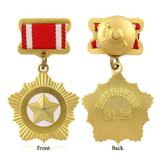 Assessment Supplier Wholesale Gold Medal / Metal Medallion with Ribbon