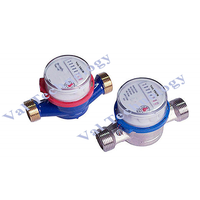 VTE - Rotary Vane Wheel Single-Jet Dry-Dial Magnet-Drive Hot Water Meter