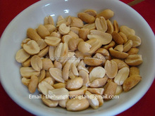 Roasted salted shelled peanuts in vacuum bag 100gr & 200gr