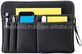 Reliable and Easy to use fancy pen holders Smart Clutch Bag with multiple functions