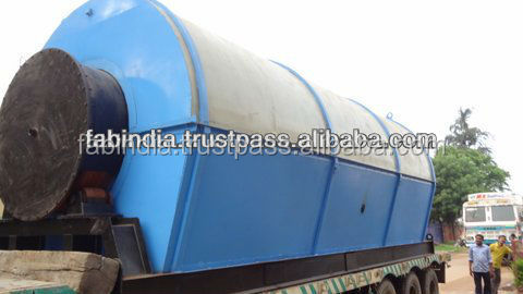 2013 New Arrival High Quality Refining Recycling Waste Tire Pyrolysis Oil Plant