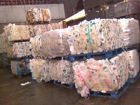 High quality Baled LDPE ,HDPE film scrap and bottles