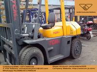 used japan made TCM 8T diesel forklift hot sale in china