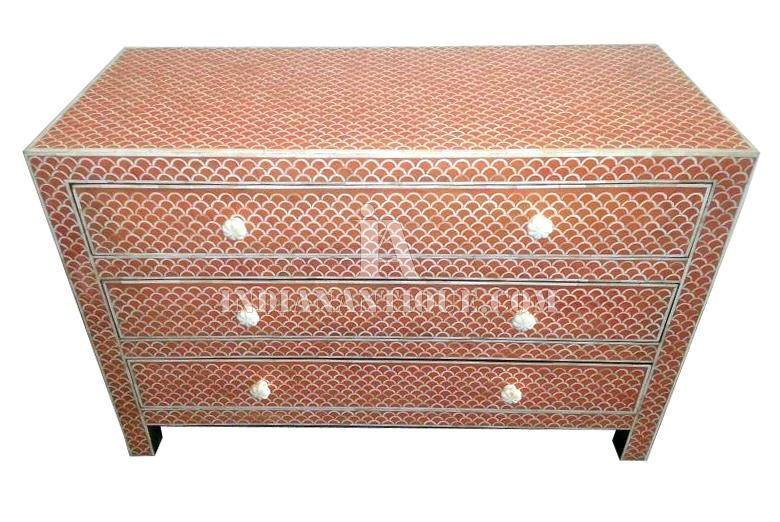 MOP INLAY SIDEBOARD FOR LIVING ROOM
