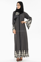 High quality Islamic clothing color abaya