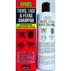 Eco-Friendly Ticks, Lice and Fleas Dog Shampoo