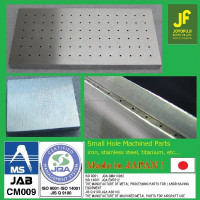 Japanese Precision Pinhole Fabrication Service For