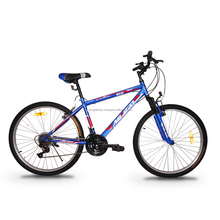 "ASOGO 26"" MTB Bike Mountain Bicycle 18 Speed Matte Blue"