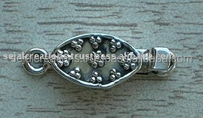 sterling silver clasps bulk, sterling silver box clasps, sterling silver box clasps wholesale