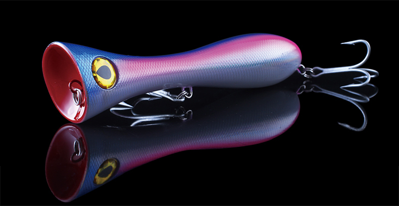 2015 japan fishing lure topwater popper lifelike fishing lure