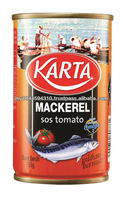 Fine Selection Canned Mackerel in Tomato Sauce (Tall Can 155g)