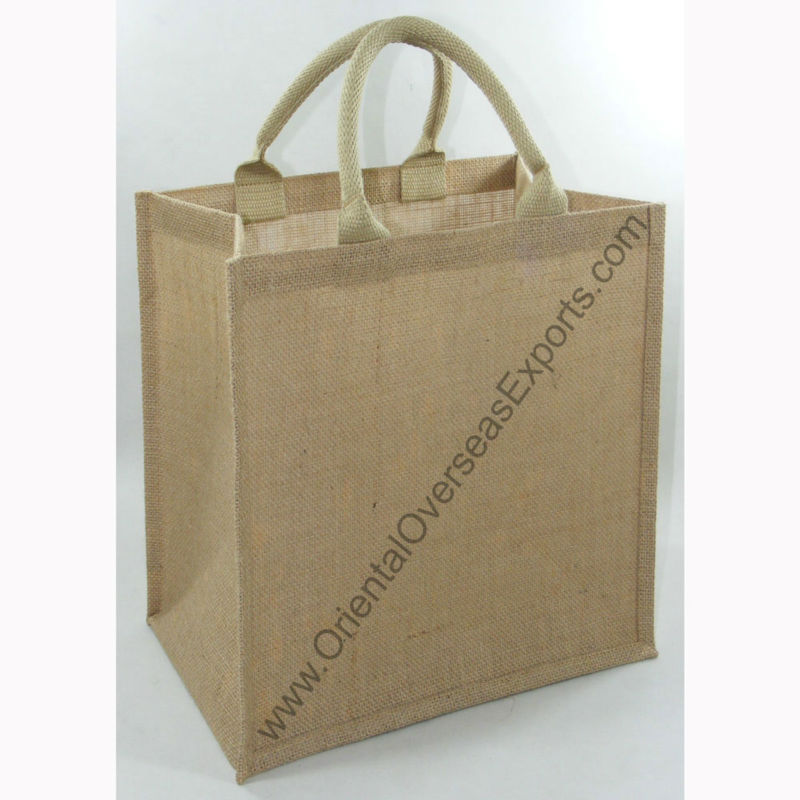 jute bag for cake - printed with your logos